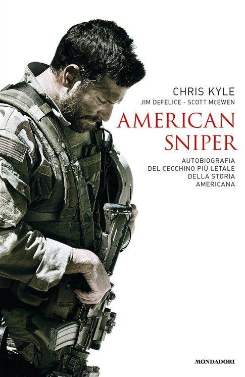 Copertina libro American Sniper - immagine da Mondadori.it