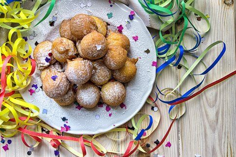 Castagnole gluten free per Carnevale