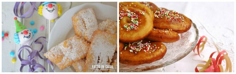 Carnevale: due ricette dai food blog