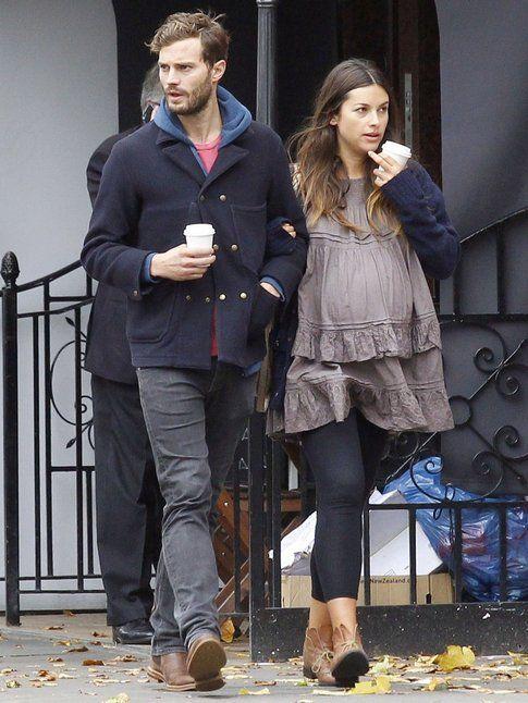 Jamie Dornan e Amalia Warner - foto Fansshare.com