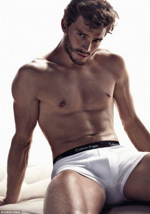 Jamie Dornan nella pubblicità per Calvin Klein