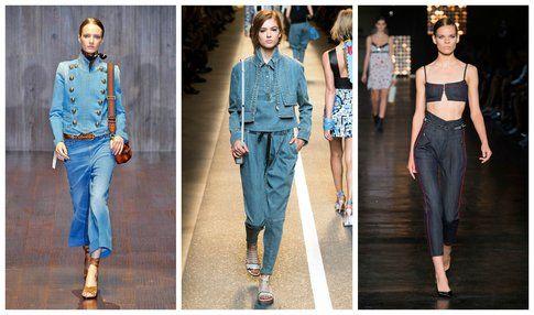 Jeans stile anni 70 - Gucci, Fendi, Diesel