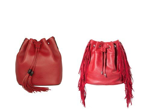 Le borse a secchiello di Gucci e Stradivarius
