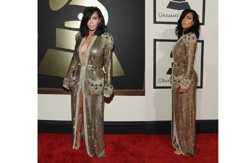 Kim kardashian ai Grammy Awards 2015