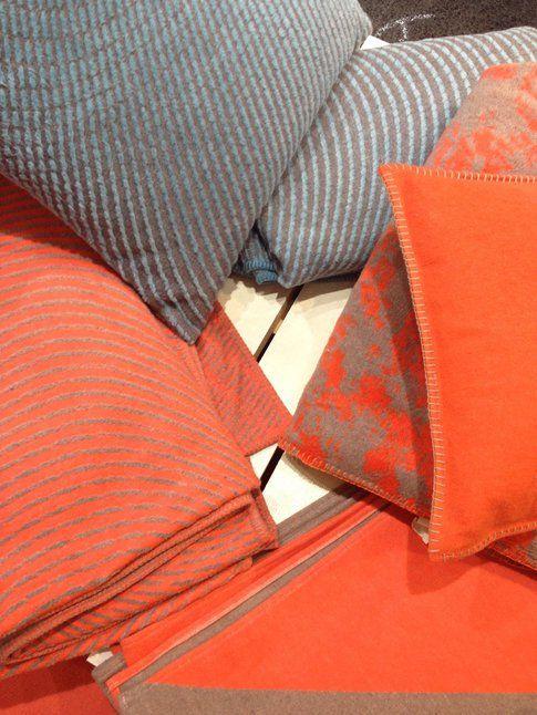 Coperte e cuscini nordici di David Fussenegger
