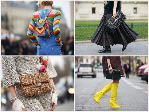 Scatti streetstyle delle più recenti Fashion Week - Fonte: gettyimages, grazia.it, vogue