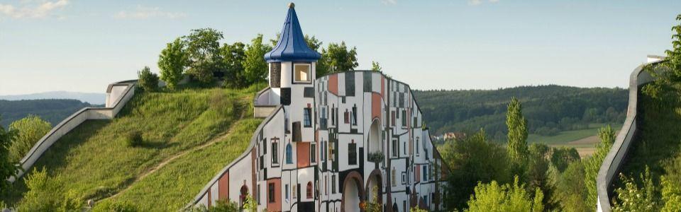 In Austria una SPA firmata dall'enorme Hundertwasser