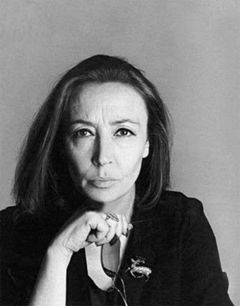 Oriana Fallaci - immagine da pagina facebook Oriana Fallaci