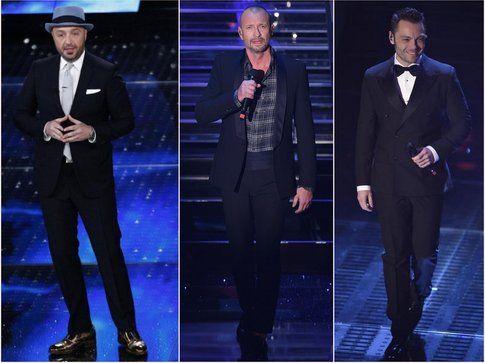 Gli uomini a Sanremo convincono, basta non esagerare! - fonte: la press