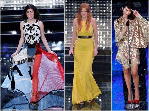 Le cantanti azzardano ma quasi sempre con successo! In foto: Bianca Atzei, Chiara e Nina Zilli - fonte: la press
