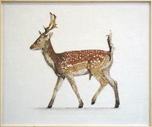 Aneme Mosaico. Dama dama 138,6 x 115,6 cm 2014