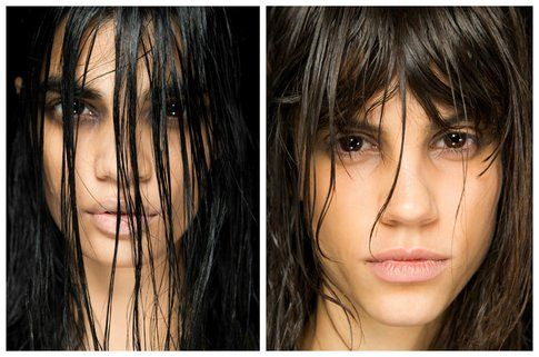 Make up e Hairstyle Alexander Wang