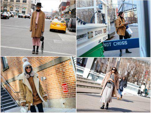 Camel Coat obsession per le strade di NY! - fonte: style.com, vogue.it, elle.com, grazia.it