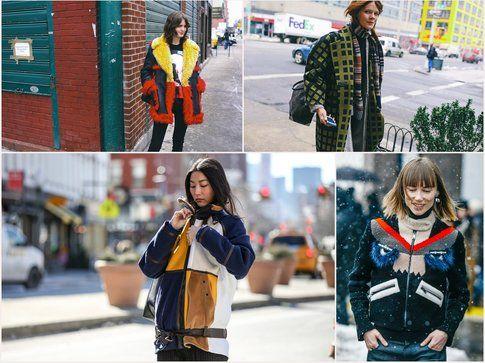 Le giacche sono state le vere protagoniste dello StreetStyle- fonte: style.com, vogue.it, elle.com, grazia.it