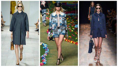 Giacche e cappotti in denim - collezioni primavera/estate 2015
