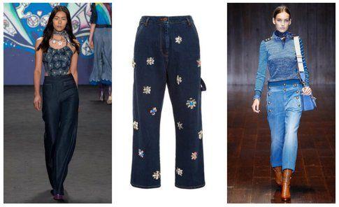 Pantaloni in denim - collezioni primavera/estate 2015