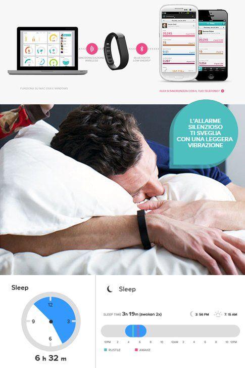 FitBit monitora anche il sonno e archivia le informazioni