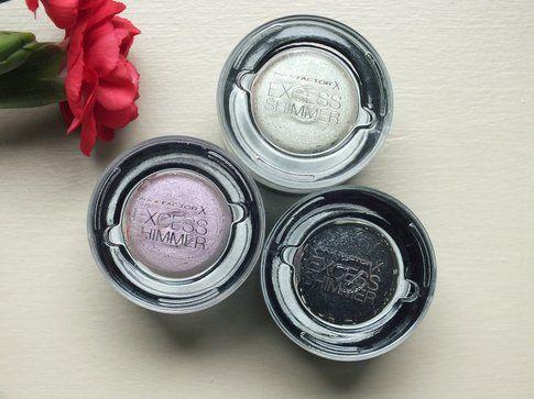 Nuovi Max Factor Excess Shimmer Eyeshadow: ombretti in crema caratterizzati da un colore pieno e perlato!