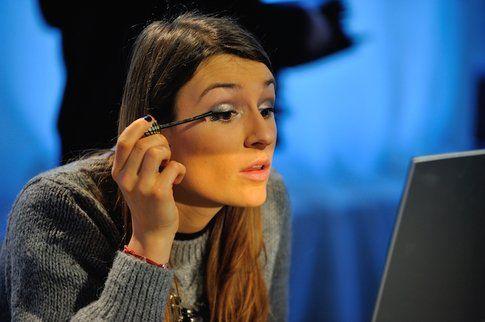 Eccomi mentre provo il nuovo Masterpiece Trasform Mascara di Max Factor, perfetto per rendere Glamour lo sguardo!