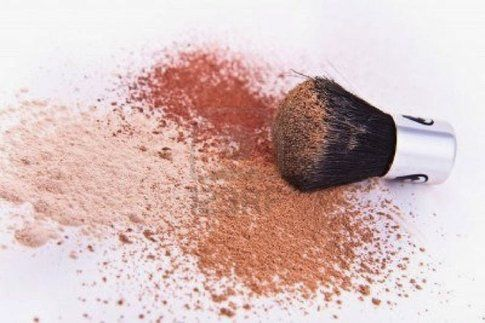 Cipria e blush in polvere