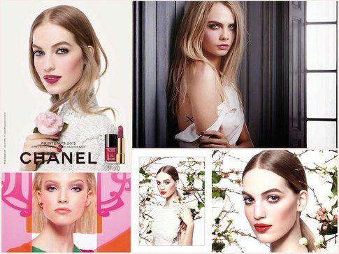 Le ADV per la primavera di Chanel, Dior e YSL Beauty
