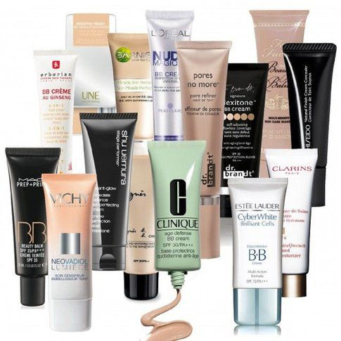 I vari tipi di BB cream e CC cream
