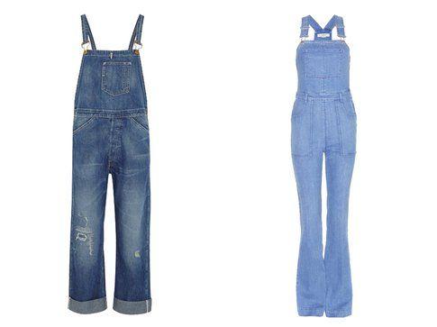 Le salopette di jeans di Levi's e Stella McCartney