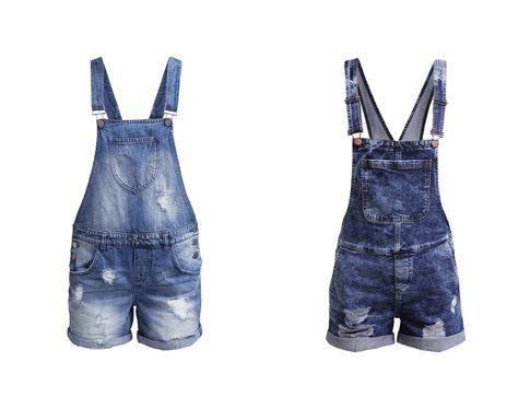 Le salopette di jeans proposte da Zalando