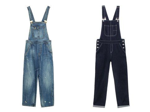 Le salopette di Jeans di Zara e Stradivarius