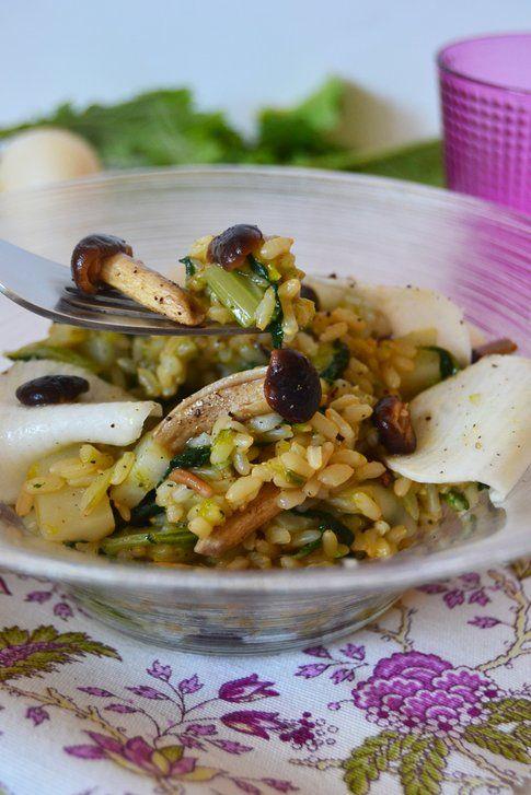 Insalata di riso invernale. Ricetta e foto di Roberta Castrichella.