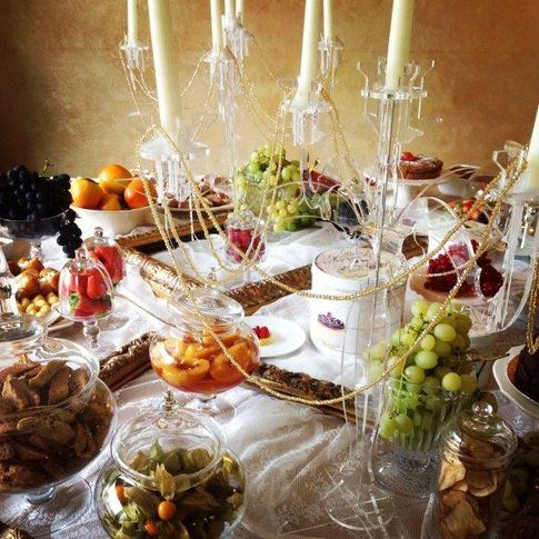 Un buffet ricco per uno Spa Party! - fonte: lefayresorts.com