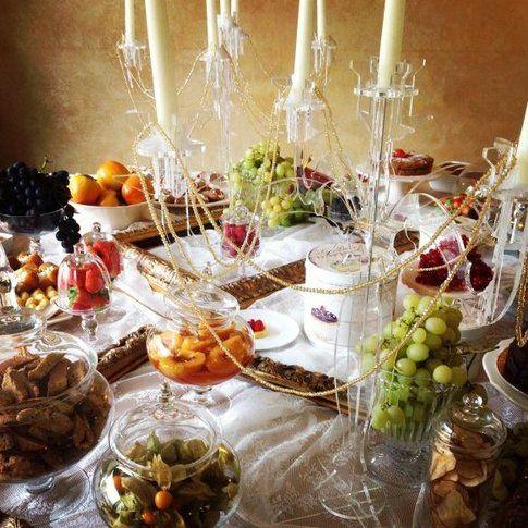 Un buffet ricco per uno Spa Party! - fonte: lefayresorts.com