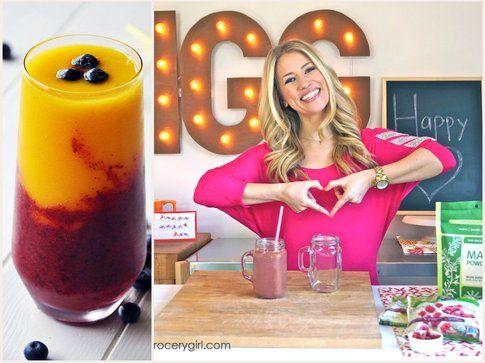 Smoothies alla frutta - fonte: healtygrocherygirl.com