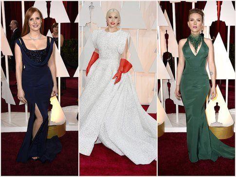 Decisamente Flop per Lady Gaga, Jessica Chastein e Scarlett! -fonte: vanityfair.com