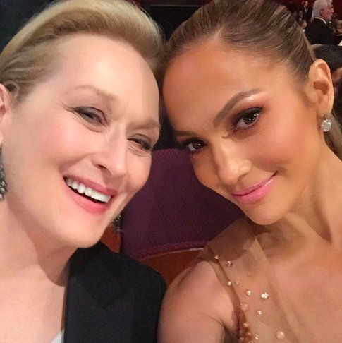In compagnia di Meryl Streep
