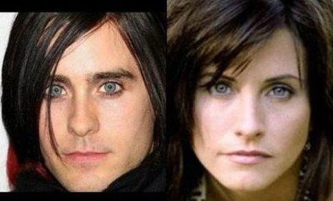 Jared Leto e Courteney Cox