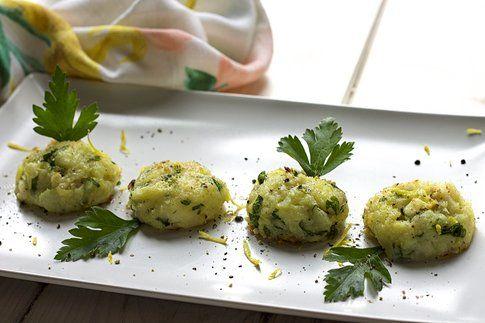 Crocchette al forno di merluzzo e patate