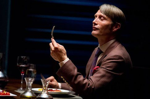 Hannibal Lecter (Mads Mikkelsen) in Hannibal - foto Nbc.com