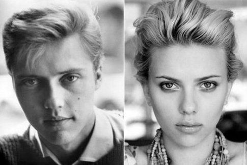 Christopher Walken e Scarlett Johansson
