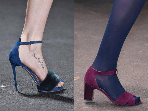 I sandali di Monique Lhuillier e Honor per l'autunno-inverno 2015-2016