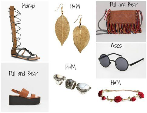 Accessori in stile Hippie