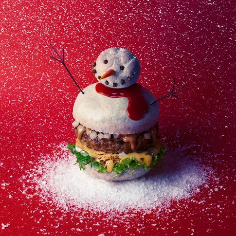 Hamburger Pupazzo di neve