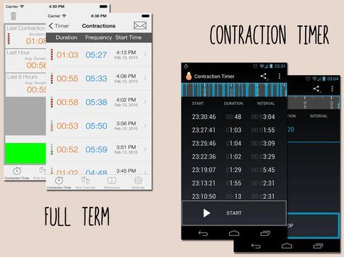 Full Term e Contraction Timer
