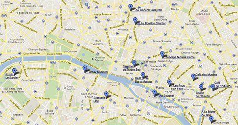 Mappa ristoranti e locali - TripAdvisor
