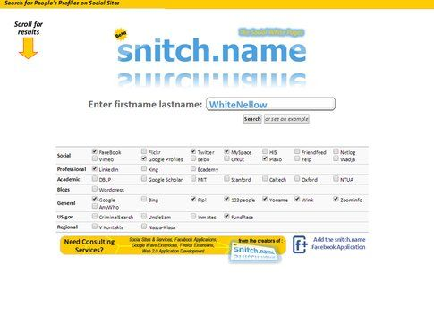 snitch.name