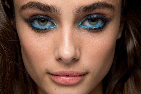 Ombretto pigmentato blu