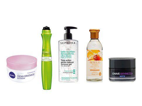 Prodotti low cost per la cura del viso