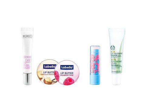 Prodotti low cost per la cura delle labbra
