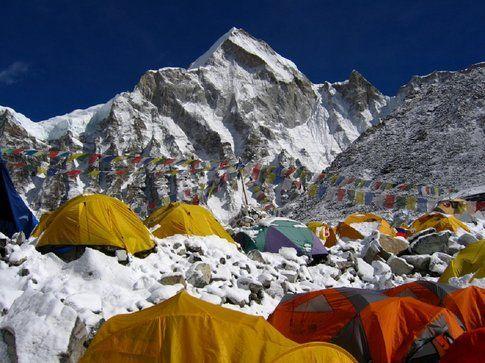 Campo base Everest, Nepal