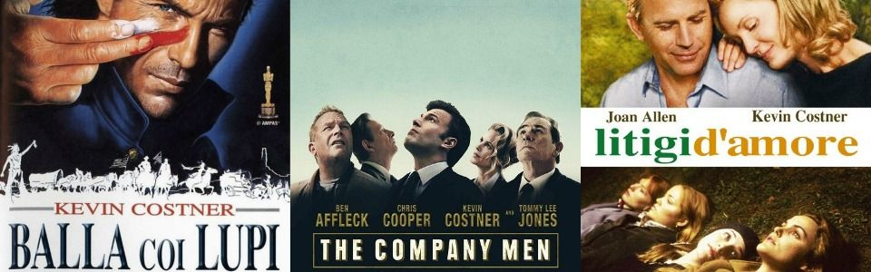 Kevin Costner: i migliori film della sua carriera
